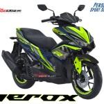 AREOX 155 VVA BLUE TECHNO