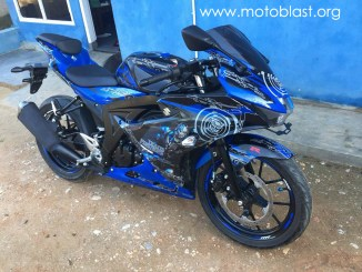 GSX-R150 BLUE MEGATRON1