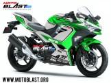 Kawasaki Ninja 250R 2018-MV AGUSTA F4RC-green