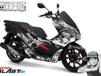 2 PCX 150 BLACK KABUKI ONEPIECE-MOTOBLAST2