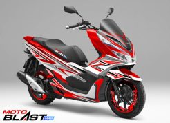 PCX 150 RED SHADOW1