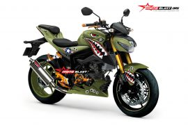 GSX-S150 BIG FOOT-ARMY SHARK SQUADRON
