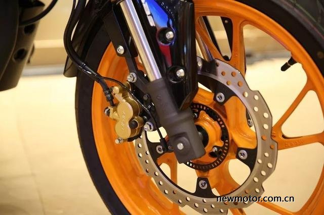 Honda CB190R facelift 2019 - rem abs