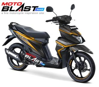 Suzuki NEX II BLACK ELEGAN3