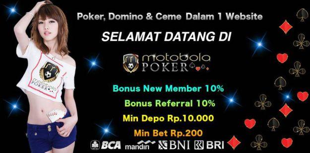 Agen Poker Online Bank BCA BRI BNI Mandiri