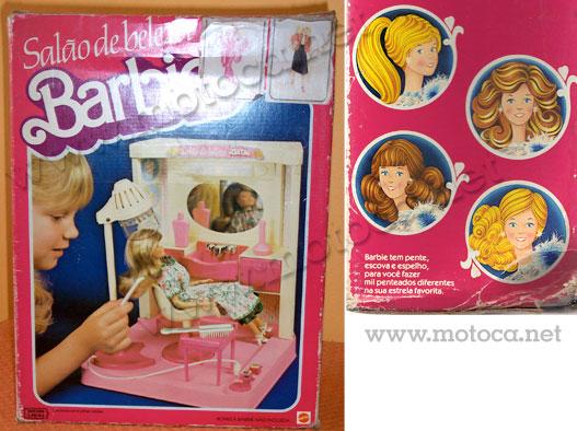 caixa salao beleza barbie