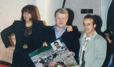 1992 Scovolo, Fornaroli e il Presidente Molinaroli al People