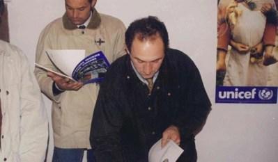 Grasso e Nicoli firmano il libro del Motoclub