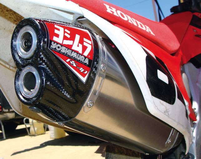2012 crf450 rs 4d exhaust