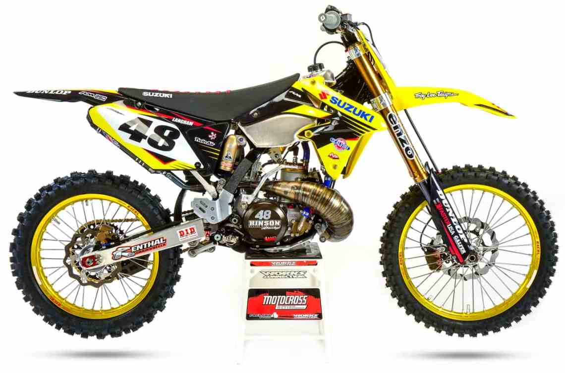 two-stroke tuesday: what a 2018 suzuki rm250 would look like