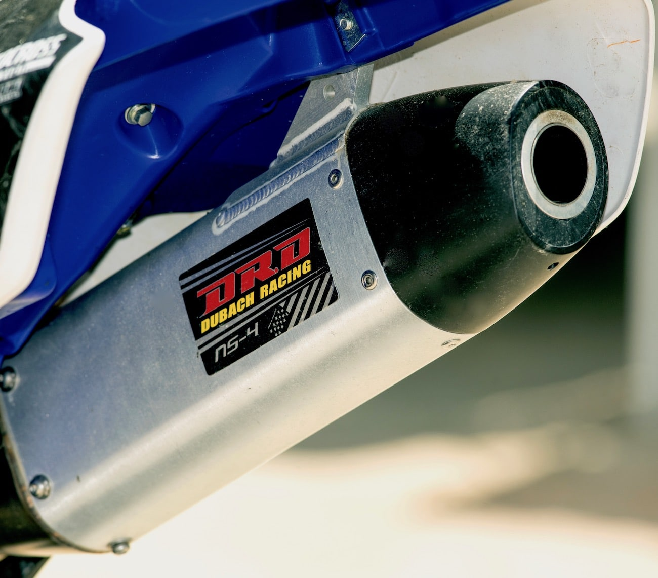 dr d yamaha yz250f exhaust
