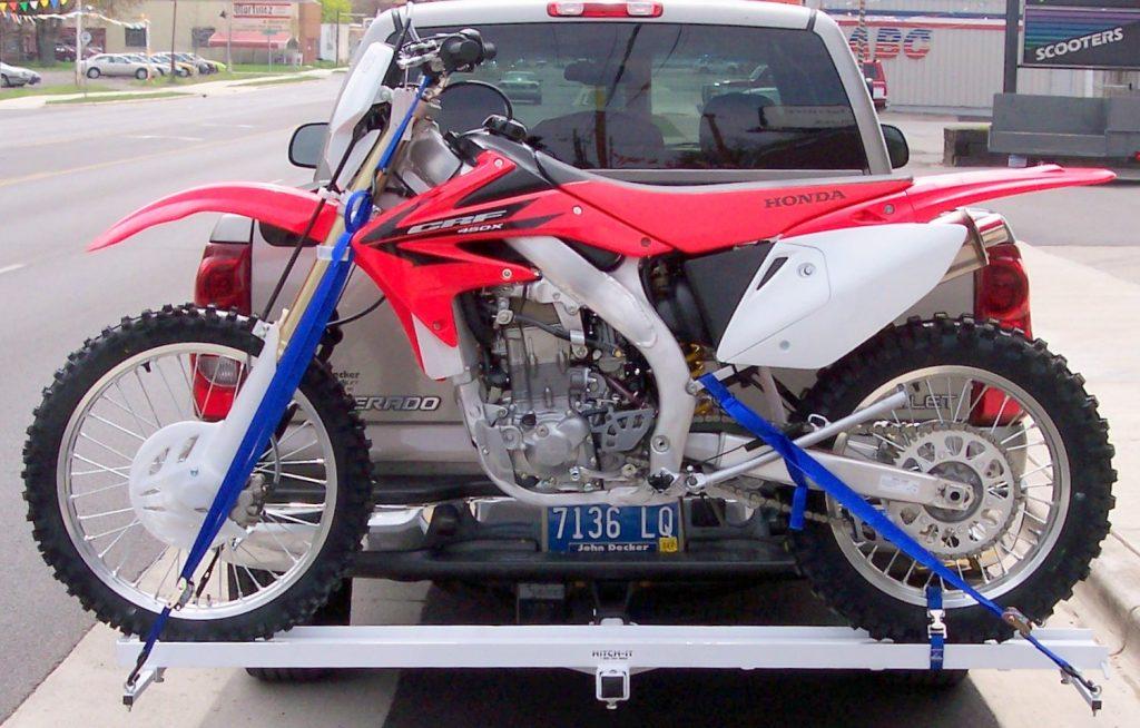 how to haul a dirt bike