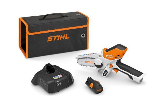 GTA 26 de Stihl, la scie de jardin à batterie