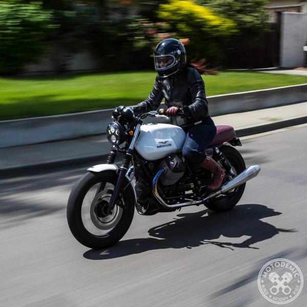 Moto Guzzi LED Headlight Upgrade