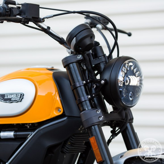 Ducati Scrambler Adaptive LED Headlight