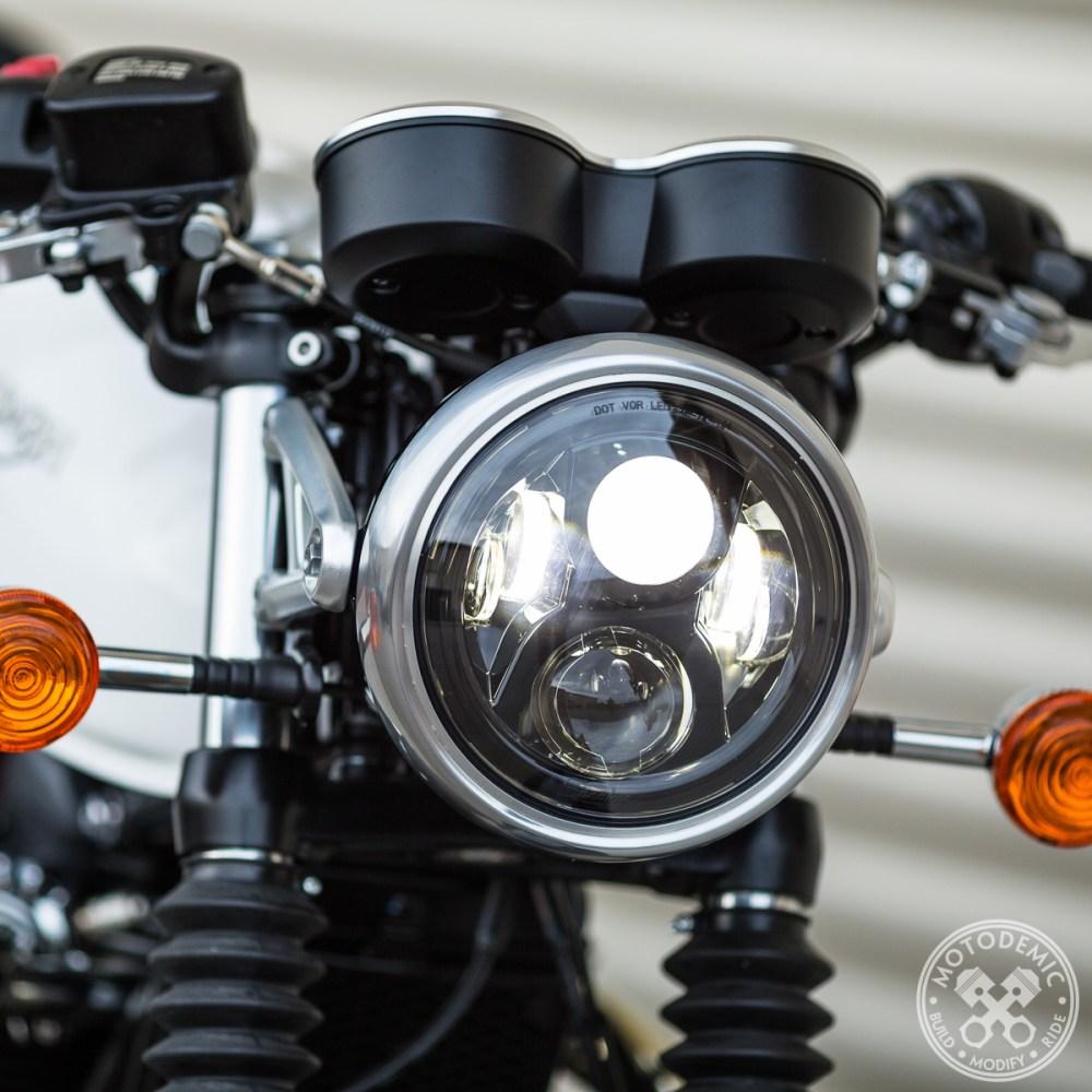 LED Headlight Thruxton 1200