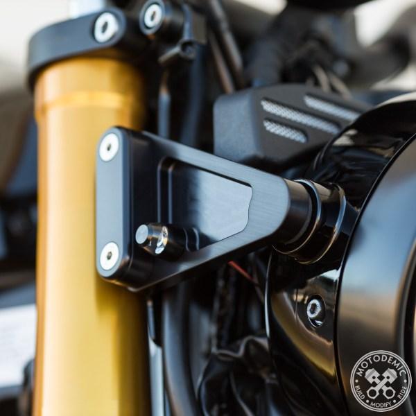 XSR900 Headlight Side Brackets