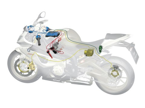 Traction Control system in motorbike