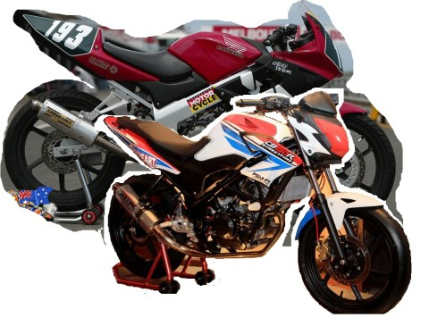CB150R become CBR150