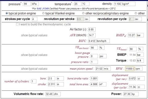 mx feat cbr150 VE90 lambda85 rpm11000