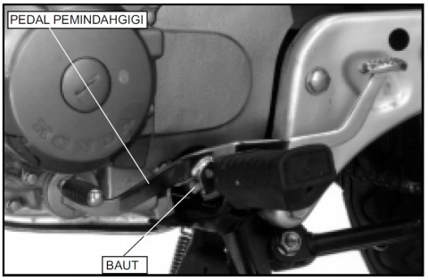 10 lepas pedal versneling