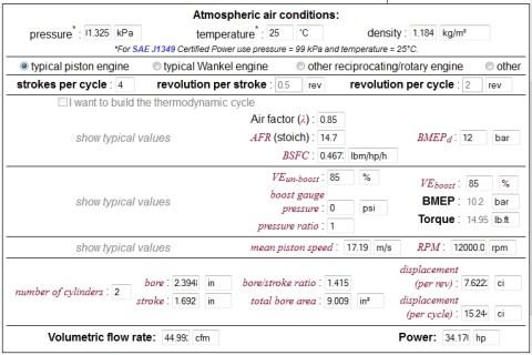 performa yzf r250 12000 rpm ve85 afr85 v2