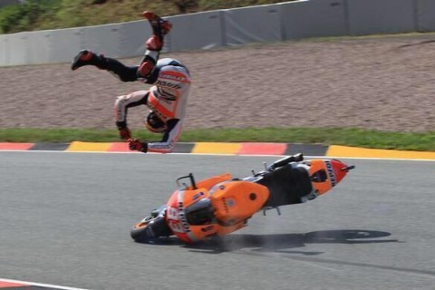 crash sachsenring