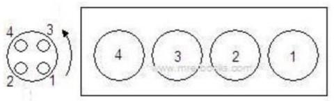 firing order inline-4 dist