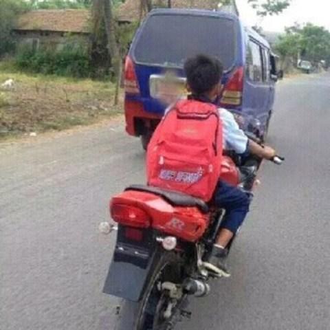anak smp naik ninja