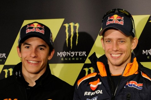 Marquez, Stoner, Pedrosa, Maverick Vinales, French MotoGP 2012