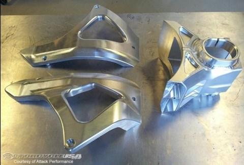 alumunium chassis part cnc