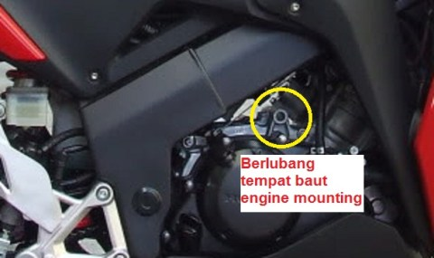 engine mounting cbr150 thailand