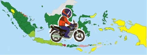 indonesian rider is the best
