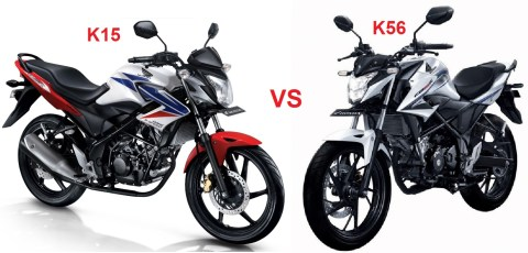 old cb150r vs new CB150r mayor facelift