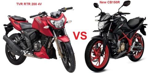 rtr200 4v vs ncb150r