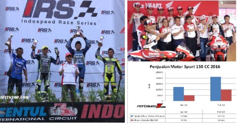 racing team honda n yamaha
