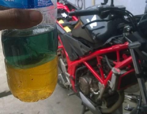 ncb150r tangki bensin kemasukan air