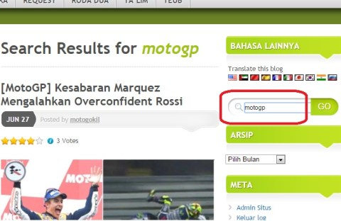 search motogp