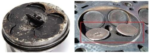 valve piston failure