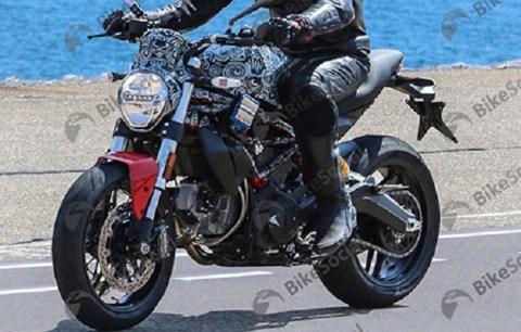 Ducati Monster 821 facelift