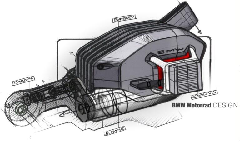 Desain motor listrik BMW vision dc roadster