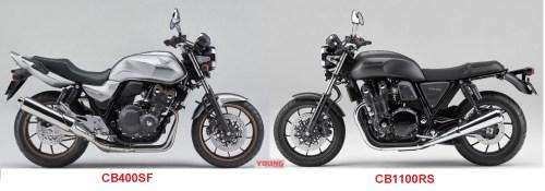 Honda CB400SF and CB1100RS-motogokil