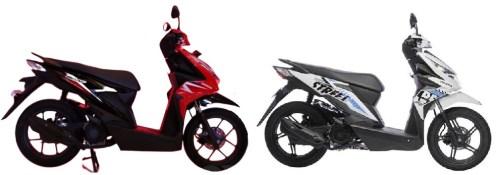 Honda-Beat_2020 vs 2019