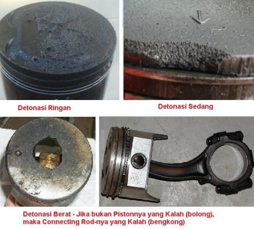 failure caused detonation-motogokil