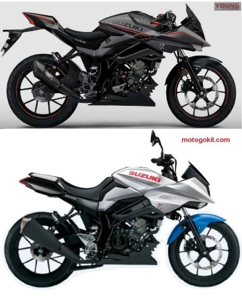 katana 125 young machine vs motogokil