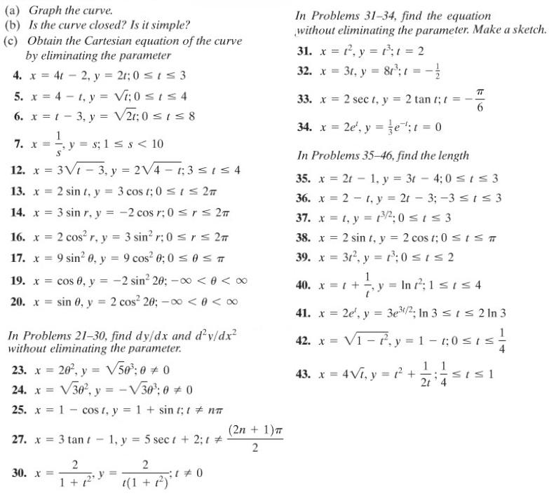 10-4 kalkulus param problem set