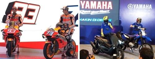 Tim-Repsol-Honda vs Tim Yamaha Factory Racing