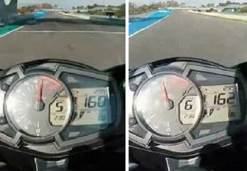 kawasaki ninja zx 25r speedometer