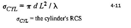 eq 4-11 rcs cylinder