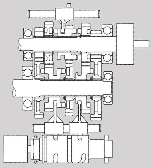 Paten Kopling  Otomatis Baru Kawasaki